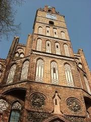 Bild vom Turm des Altstädtischen Rathauses in Brandenburg an der Havel