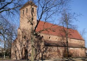 Die Nicolaikirche vom Westen aus gesehen